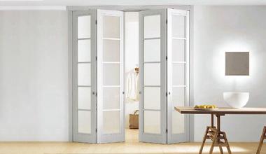 Складные двери книжка