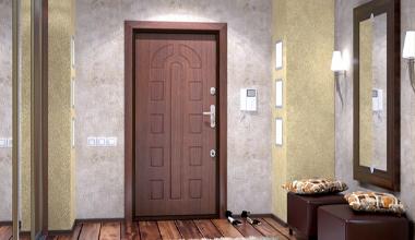 Входные двери из массива