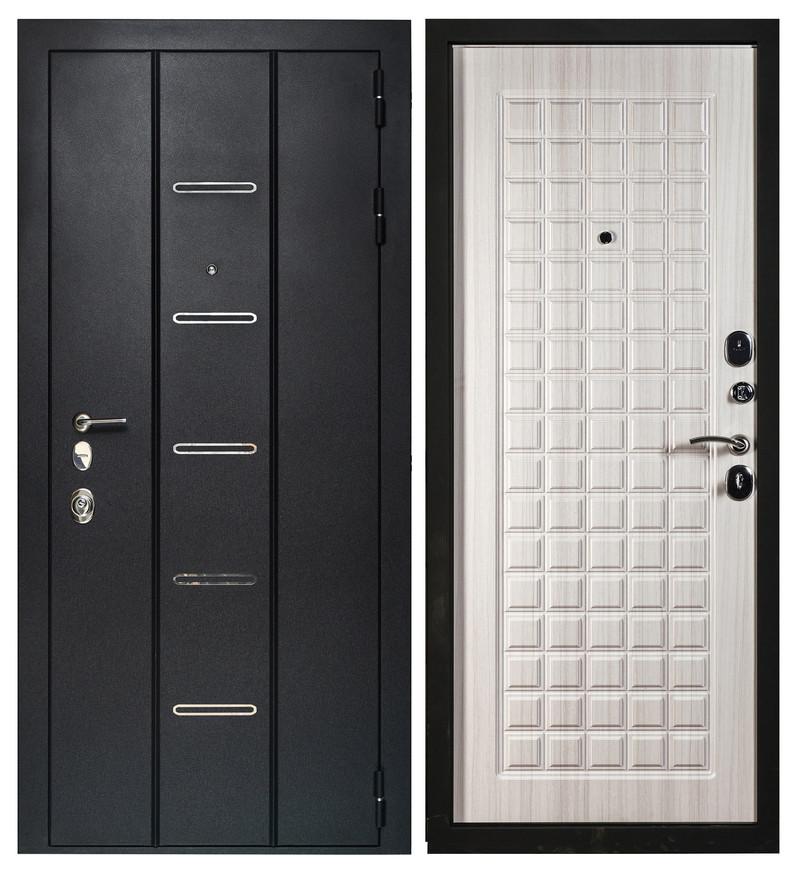 Дверь Sidoorov Максимум SM 90 Квадро Сандал молочный