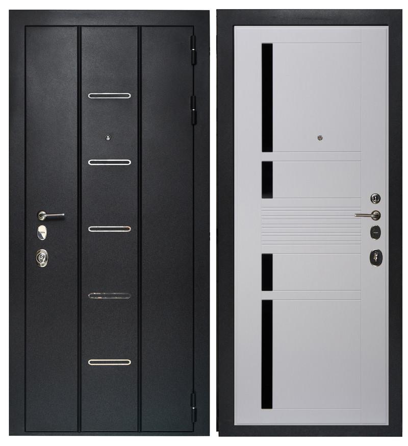 Дверь Sidoorov Максимум SM 90 ФЛ-10 Скол дуба белый