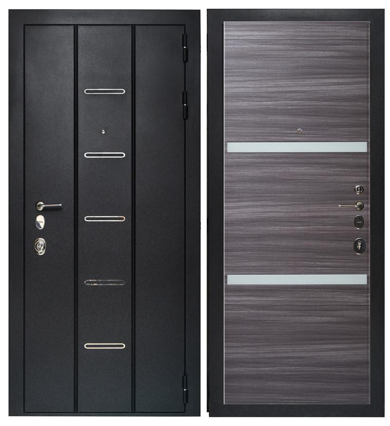 Дверь Sidoorov Максимум SM 90 ФЛ-8 Сандал серый горизонт