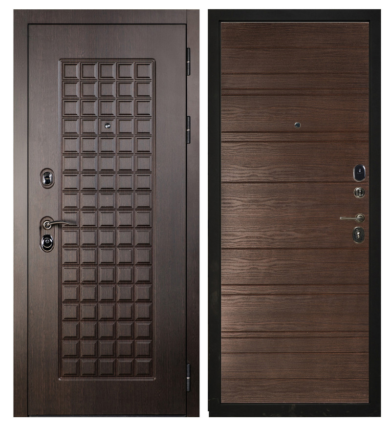 Дверь Sidoorov S 100 Венге / Венге горизонт