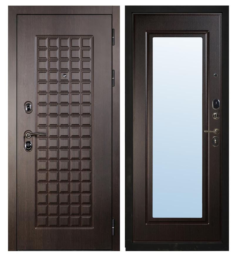 Дверь Sidoorov S 100 Венге / Зеркало Макси Венге