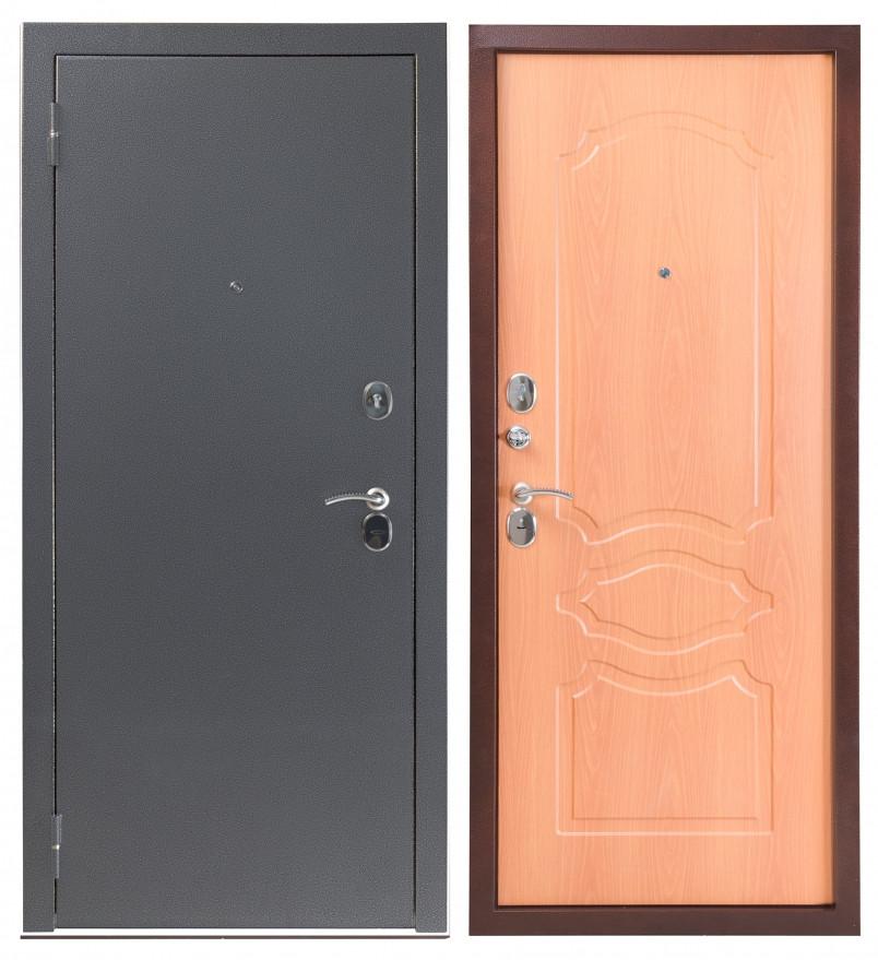 Дверь Sidoorov S 80 3к Антик серебро / Женева Миланский орех