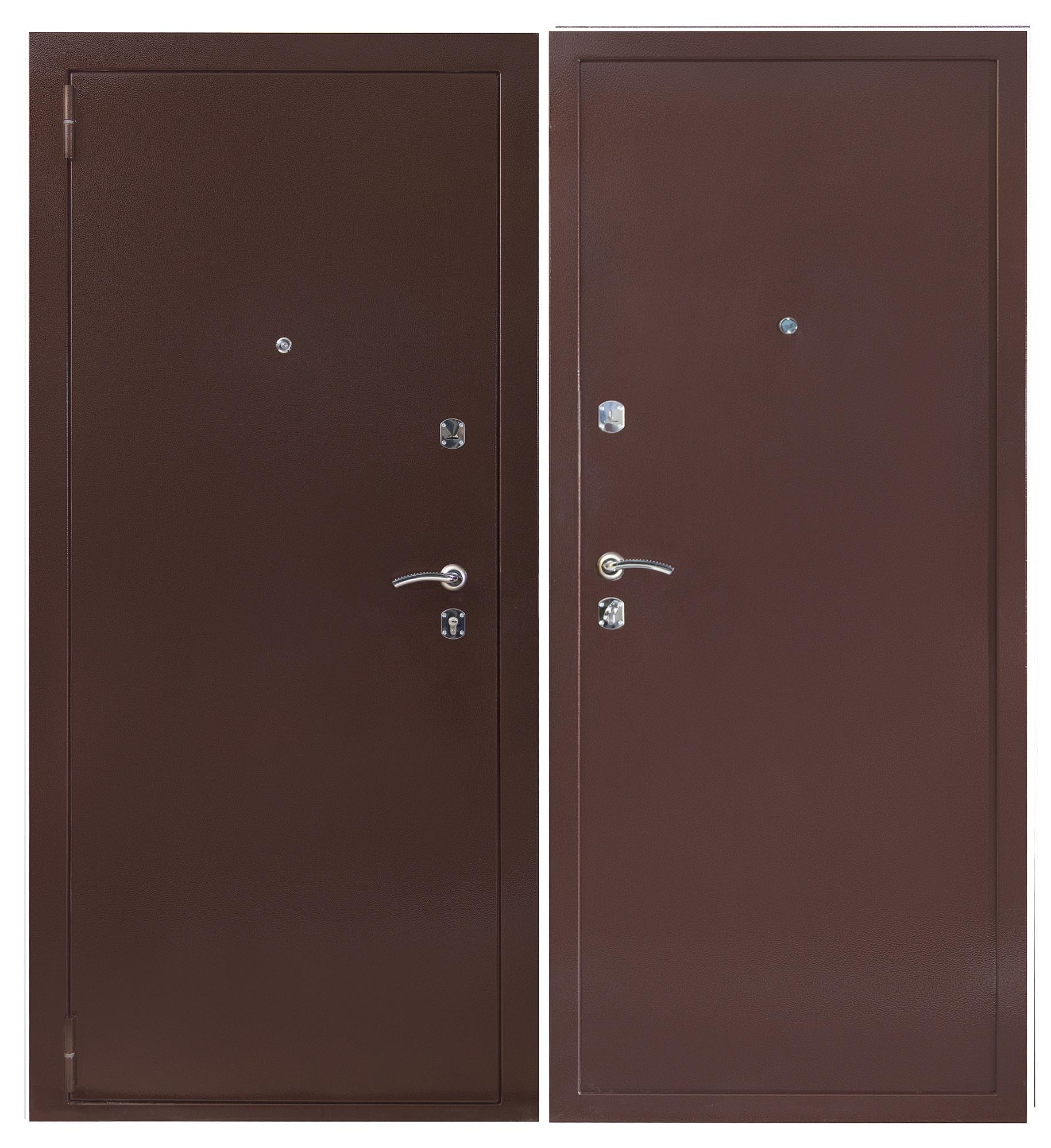 Сейф-дверь Sidoorov S 80 Антик медь / Антик медь
