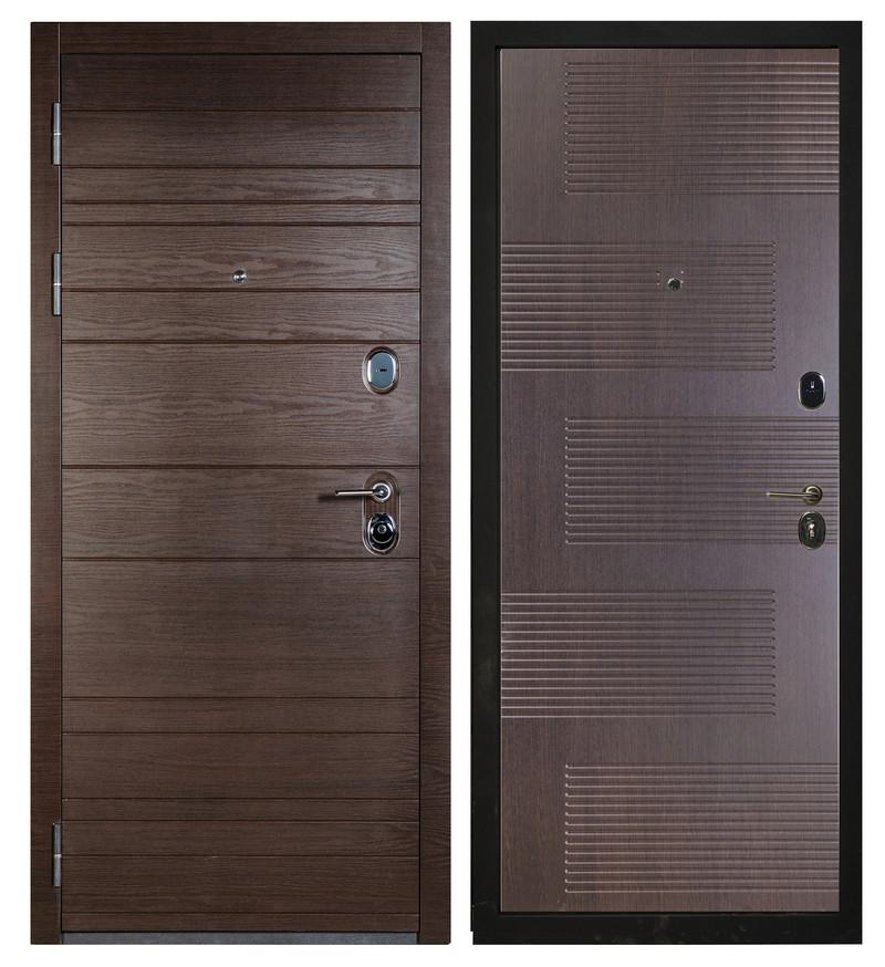 Сейф-дверь Sidoorov S 67 Венге поперечный / Спарта Венге