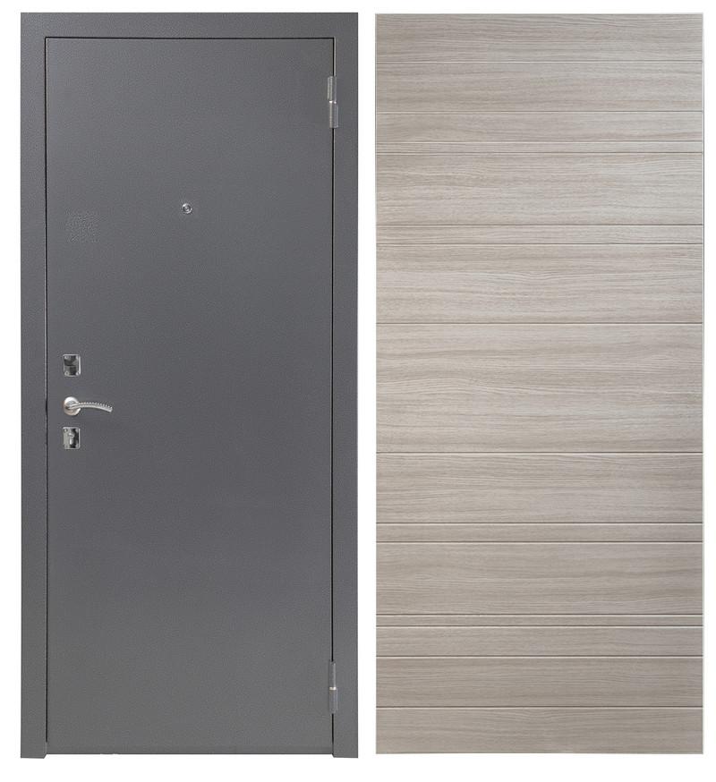 Дверь Sidoorov S 67 Антик серебро / Акация светлая горизонт