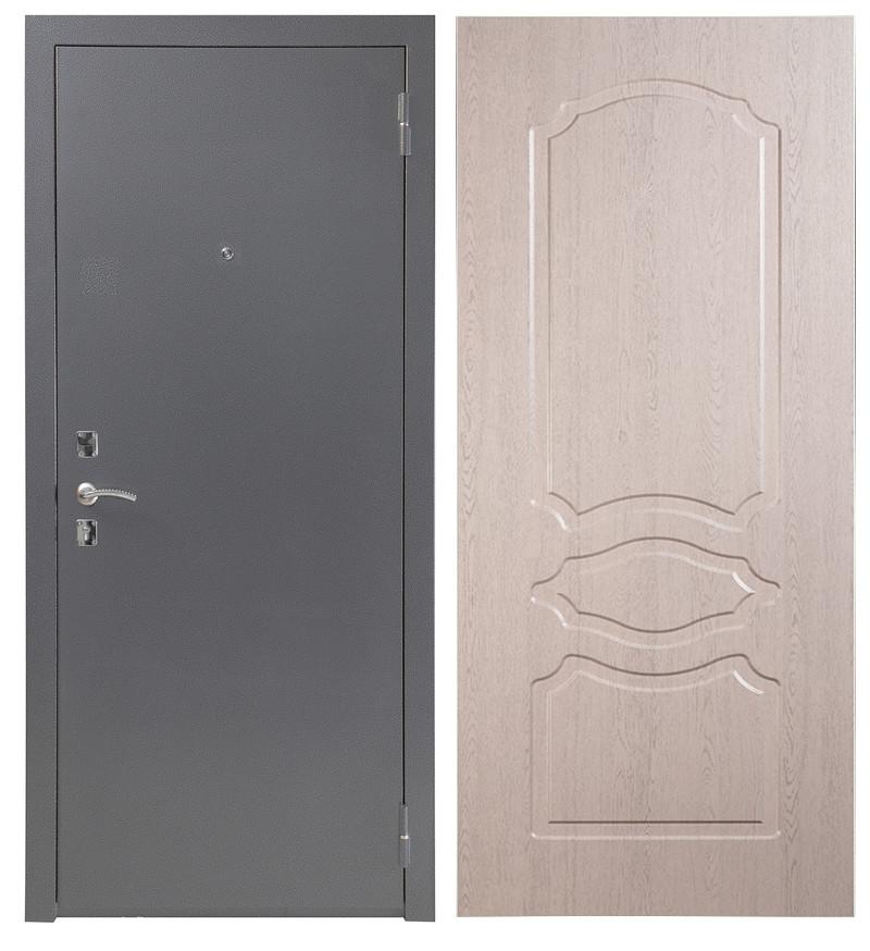 Дверь Sidoorov S 67 Антик серебро / Женева Беленый дуб