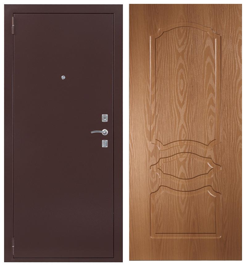 Дверь Sidoorov S 67 Антик медь / Женева Миланский орех