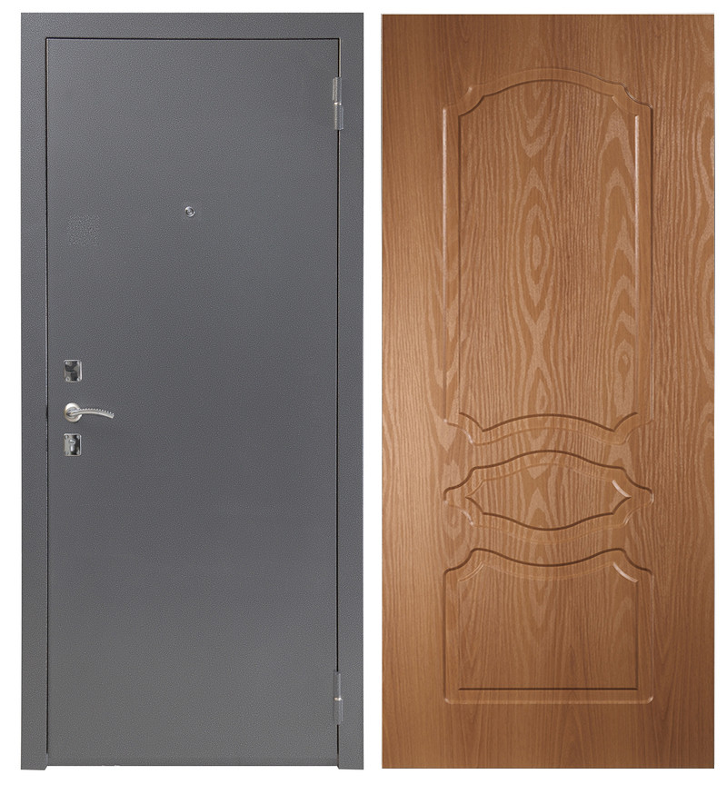 Дверь Sidoorov S 67 Антик серебро / Женева Миланский орех