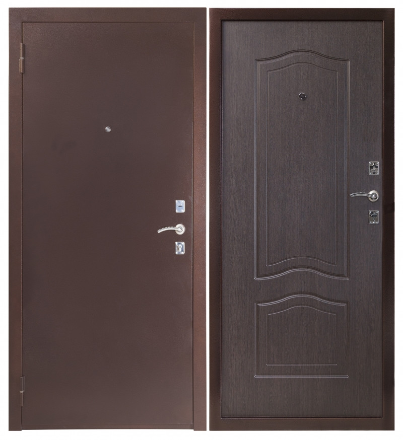 Дверь Sidoorov S 67 Антик медь / Элегия Венге