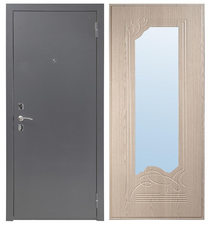 Дверь Sidoorov S 67 Антик серебро / Ольга Беленый дуб