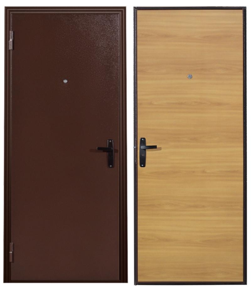 Дверь Sidoorov МЕГАСТРОЙ 2к Миланский орех
