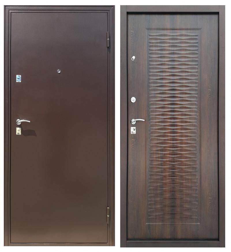 Дверь Sidoorov Волна Мореный дуб