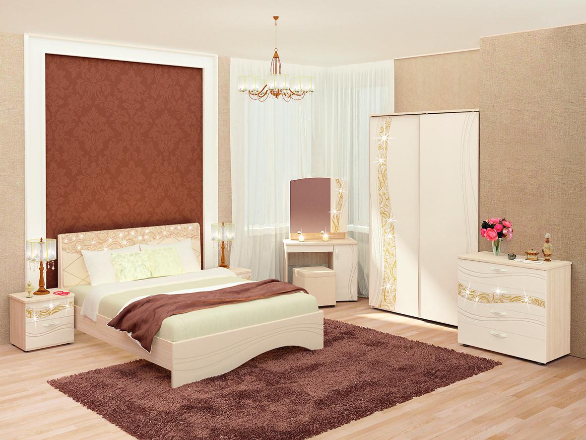 Модульный гарнитур спальный Витра Соната