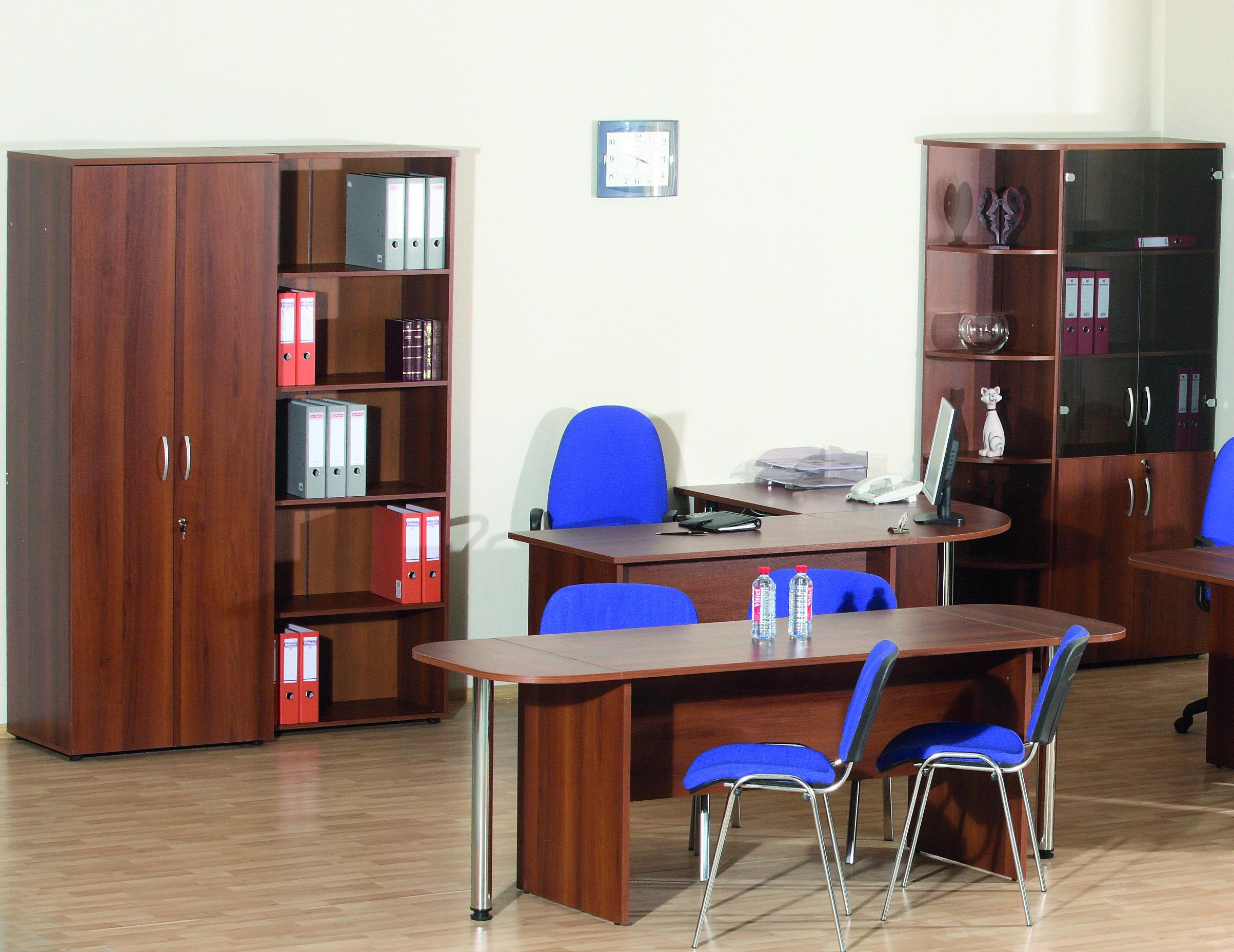 Набор мебели для персонала Витра Альфа Орех Пегас
