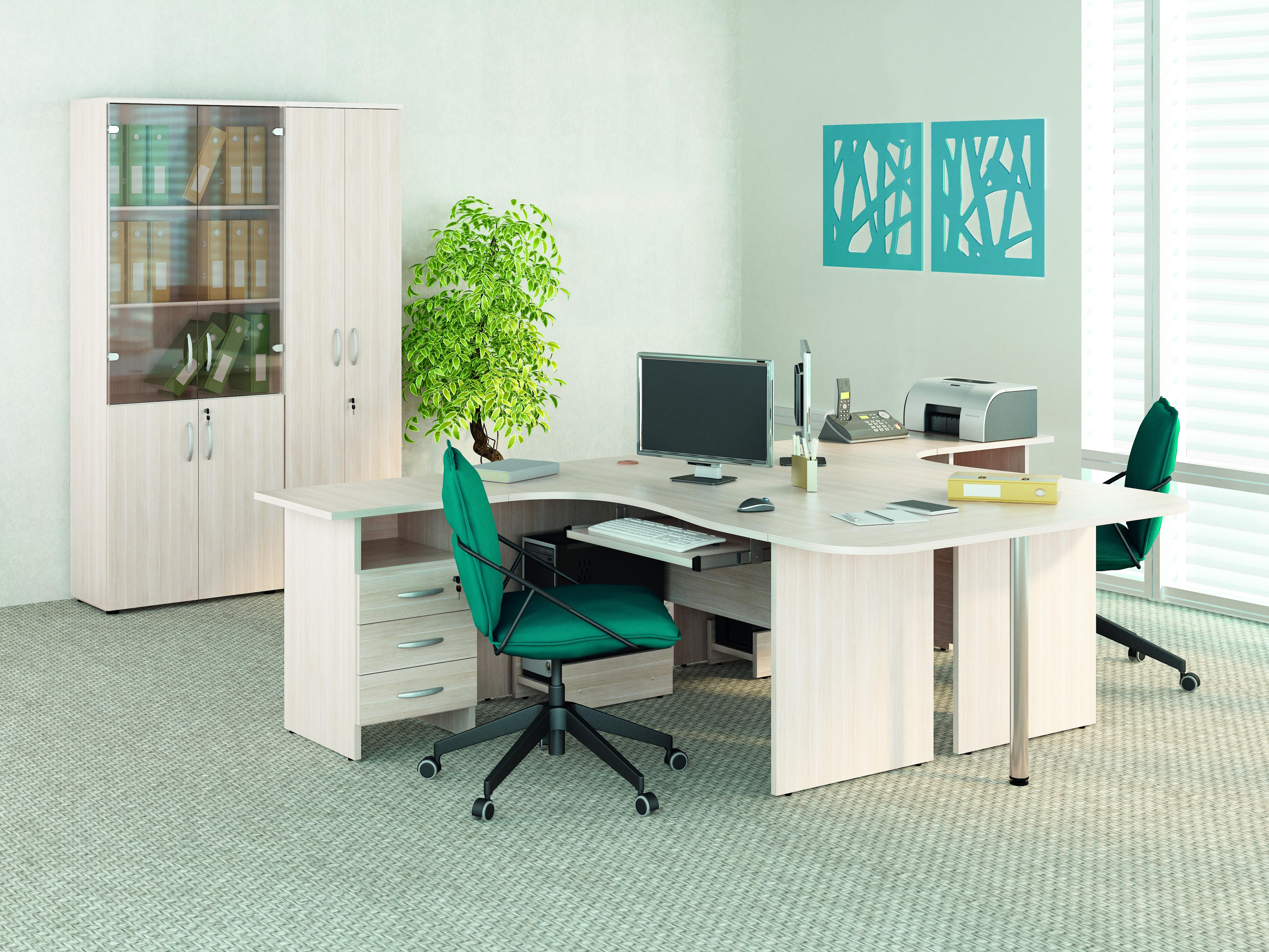 Набор мебели для персонала Витра Альфа Дуб Кобург