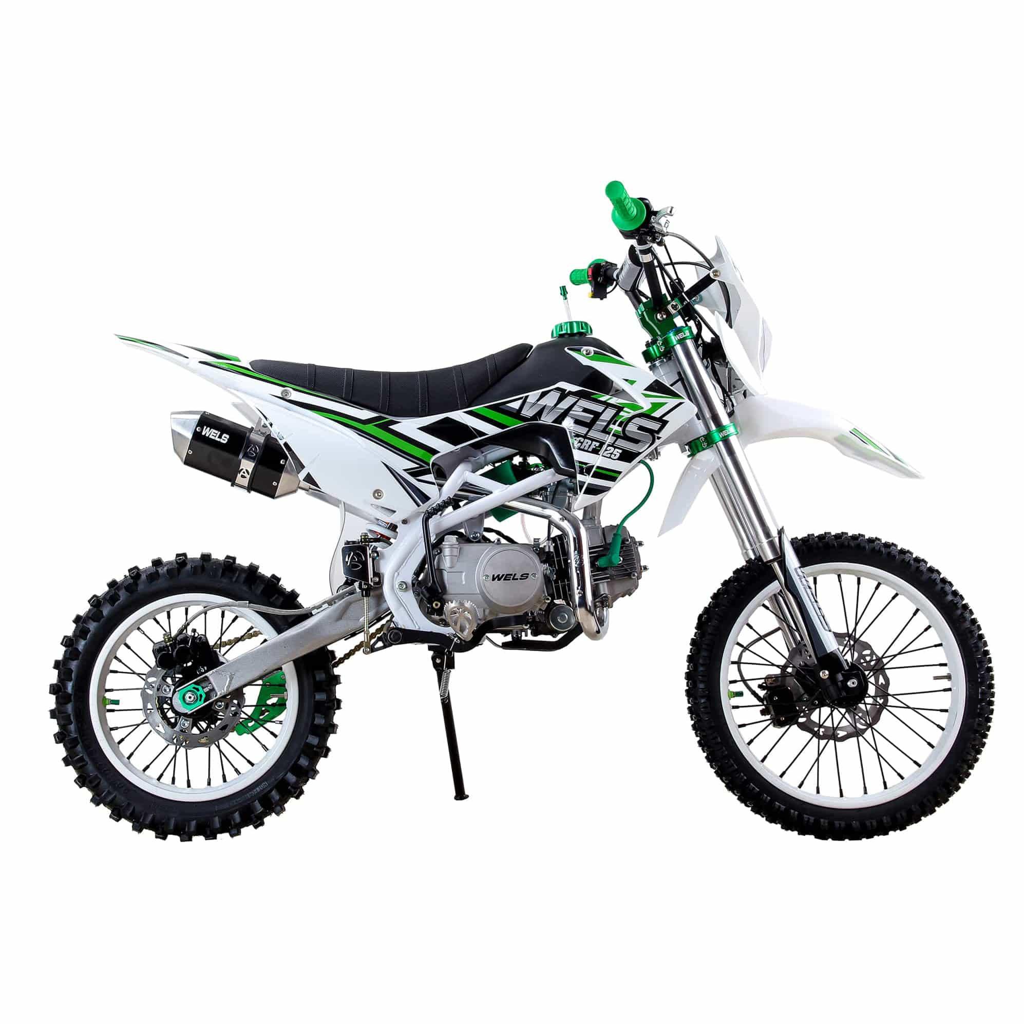 Питбайк WELS CRF 125 Зеленый