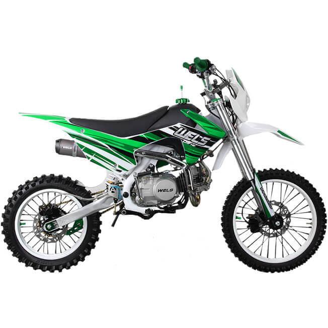 Питбайк WELS CRF 140 Зеленый