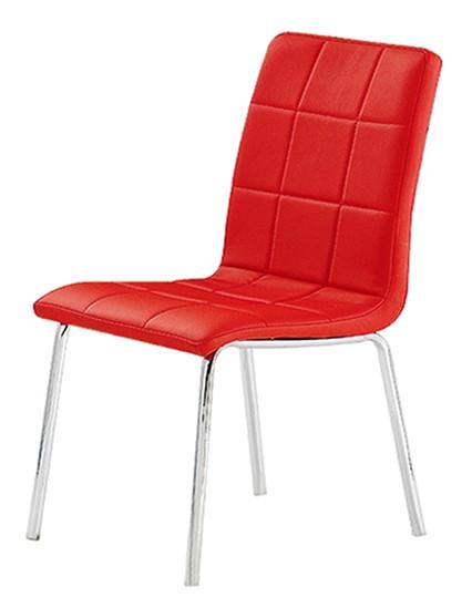 Стул кухонный Цвет Мебели F 230 Красный