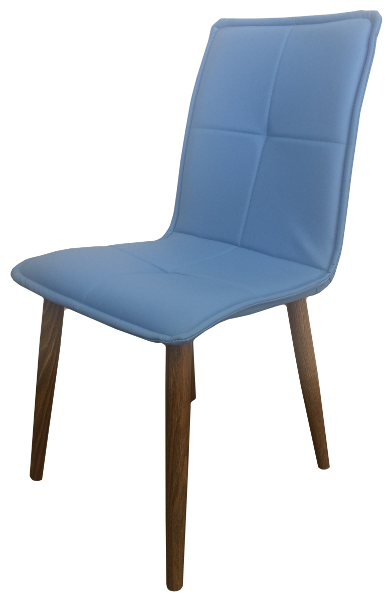 Стул кухонный Цвет Мебели МС 52-3 Голубой