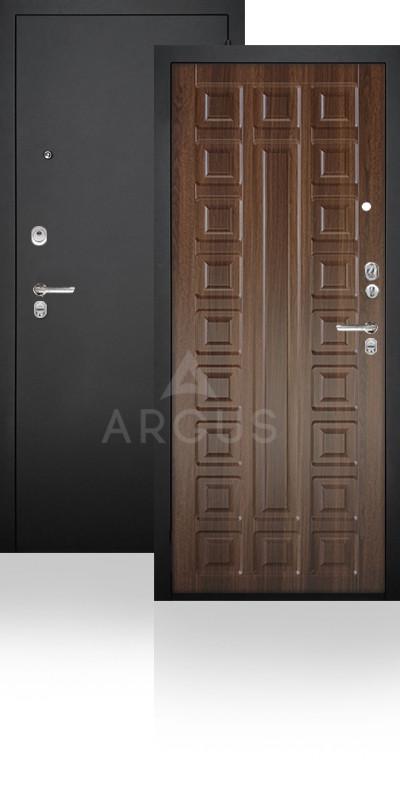 Сейф-дверь Аргус ДА-34 Сенатор Черный муар / Коньяк-статус