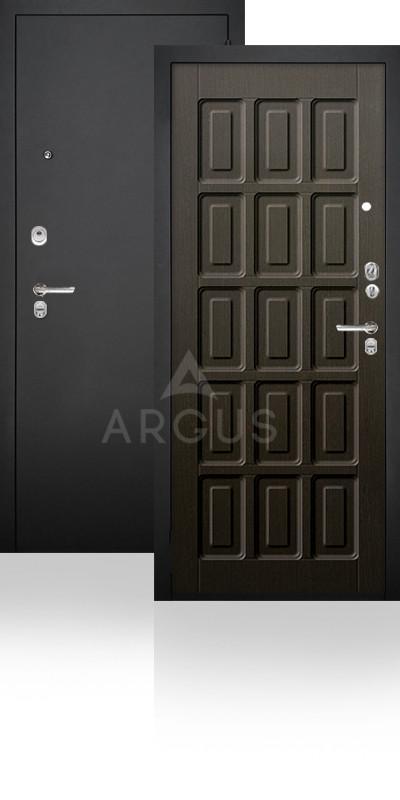 Сейф-дверь Аргус ДА-34 Шоколад Черный муар / Венге