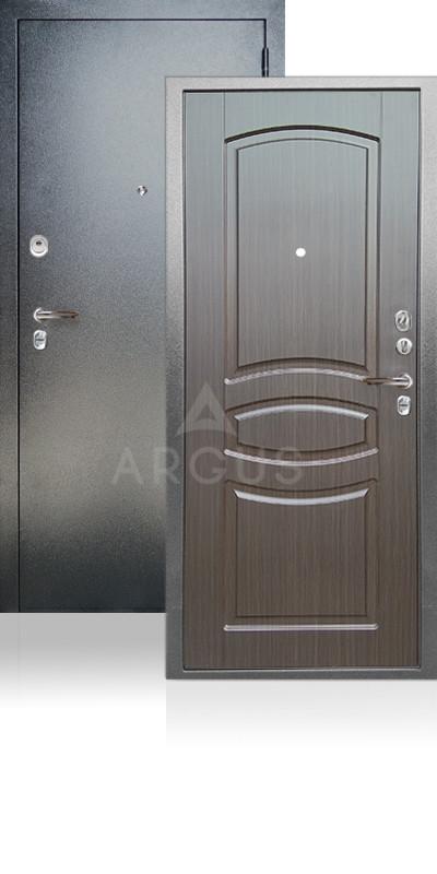 Сейф-дверь Аргус ДА-61 Монако Антик серебро / Венге тисненный