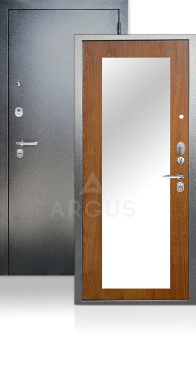 Дверь Аргус ДА-66 Милли Антик серебро / Дуб золотой