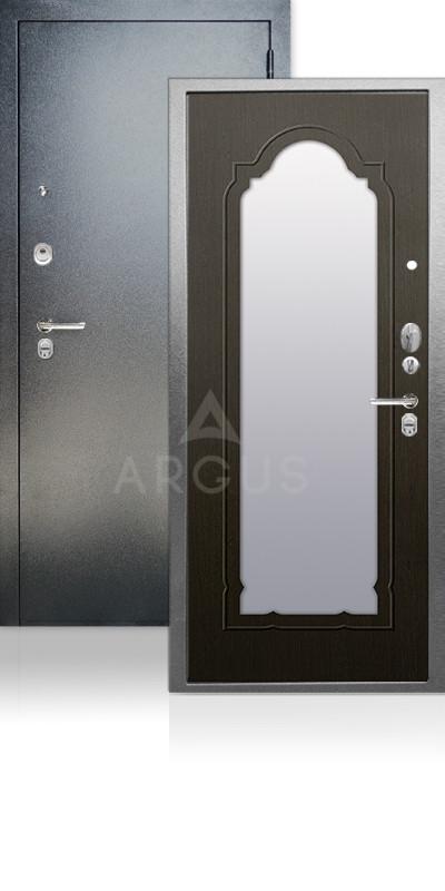 Дверь Аргус ДА-66 Прага Антик серебро / Венге