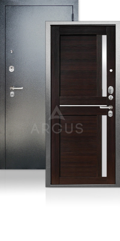 Входная дверь Аргус ДА-67 Мирра Антик серебро / Вельвет