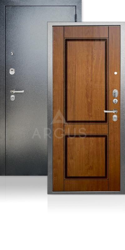 Дверь Аргус ДА-68 Ромео Антик серебро / Дуб золотой