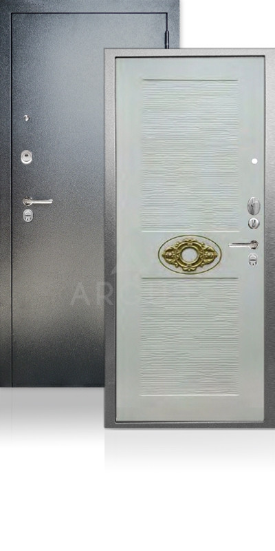 Входная дверь Аргус ДА-68 Франциск Антик серебро / Ларче светлый