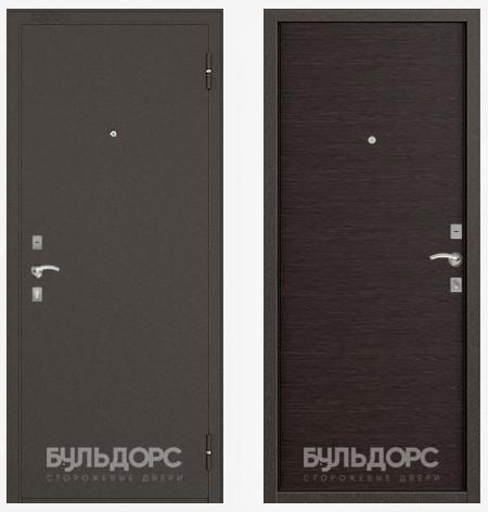 Дверь Бульдорс 10 Букле шоколад / Венге