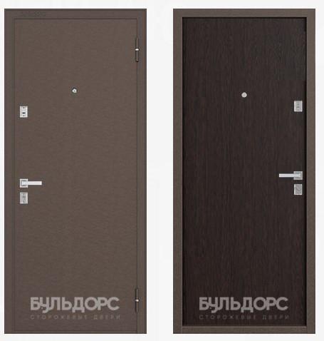 Дверь Бульдорс 12 Медь / Венге