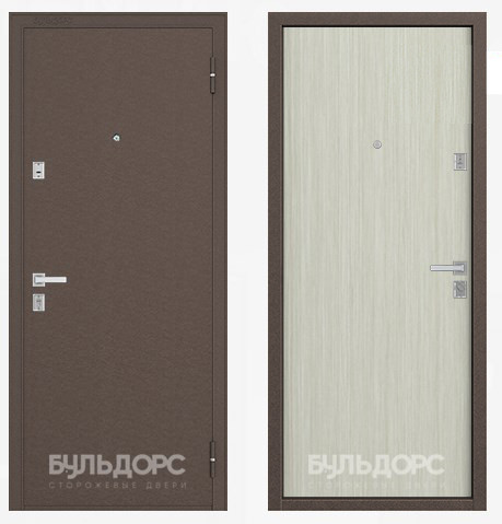 Дверь Бульдорс 12 Медь / Дуб белый