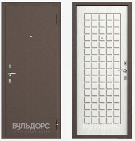 Дверь Бульдорс 10С Медь / Ларче бьянко