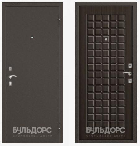 Дверь Бульдорс 10С Букле шоколад / Ларче шоколад