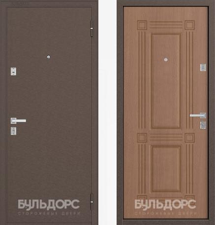 Дверь Бульдорс 12С Медь / Карамель фрезеровка С-4
