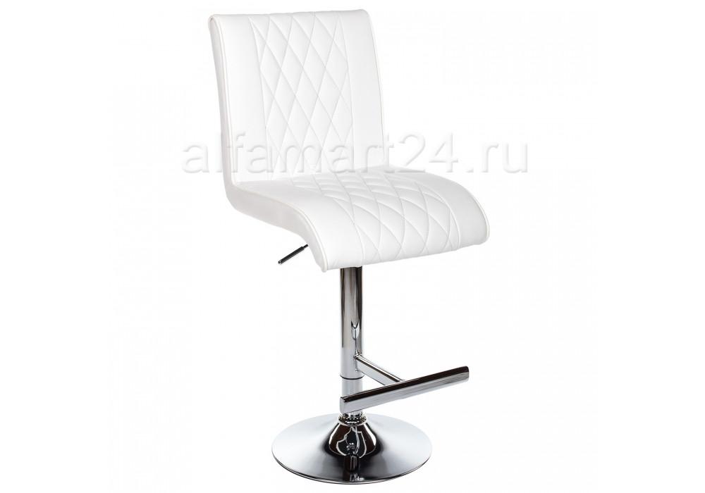 Барный стул Woodville Park белый