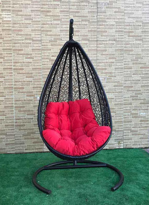 Подвесное кресло из ротанга BiGarden Triumf Black