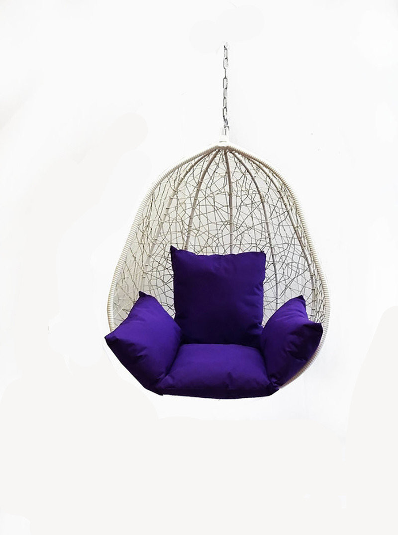 Чаша для подвесного кресла из ротанга BiGarden Kapri White BS