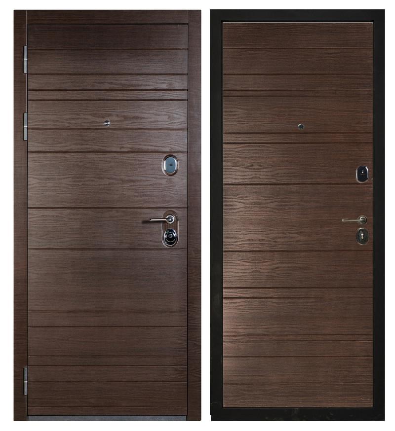 Дверь Sidoorov S 67 Антик серебро / Венге горизонт