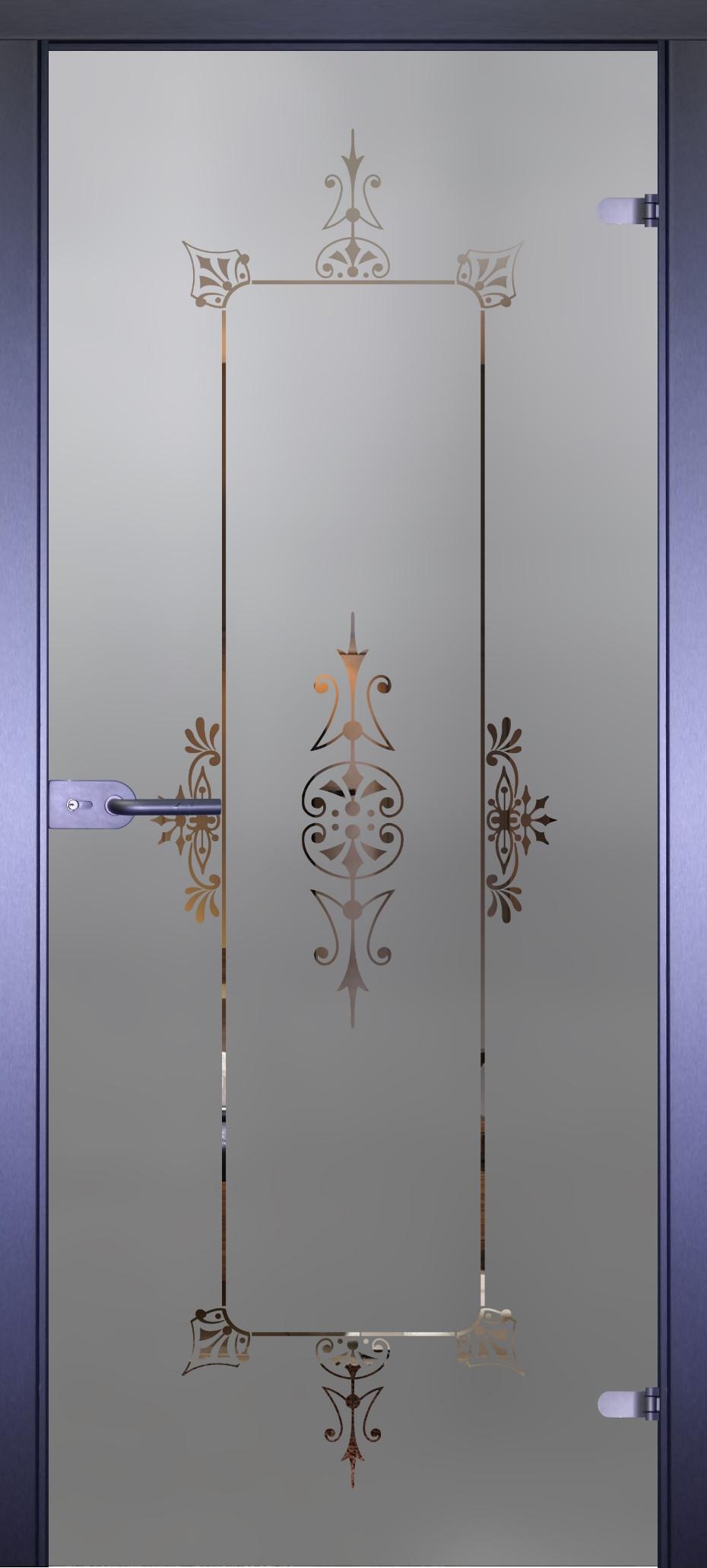 Дверь стеклянная Акма Mirra 0142