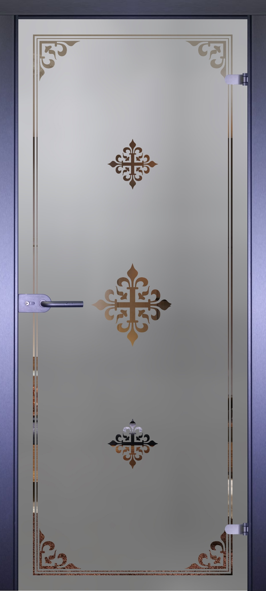 Дверь стеклянная Акма Mirra 0084