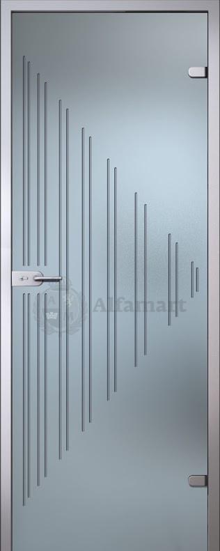 Дверь стеклянная Акма Illusion Ребекка