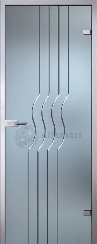 Дверь стеклянная Акма Illusion Стелла
