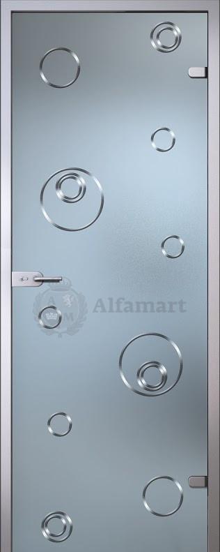 Дверь стеклянная Акма Illusion Сабина