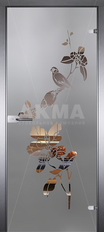 Дверь стеклянная Акма Mirra 0001