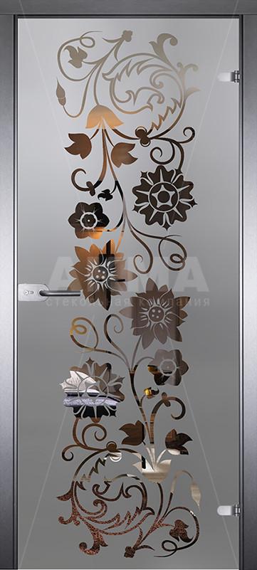 Дверь стеклянная Акма Mirra 0050